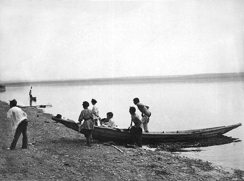 Река Лена 1901 год