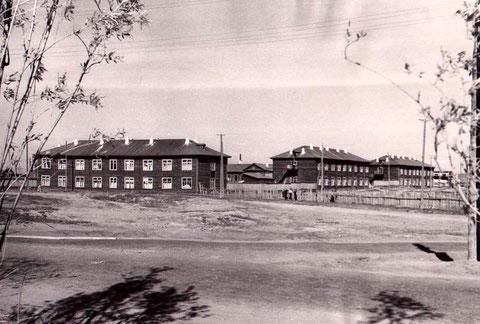Здания общежитий ЯГУ