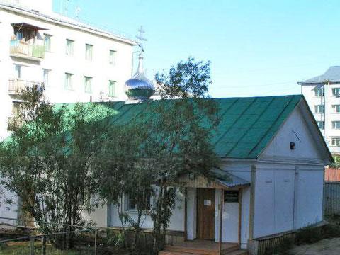 Старая церковь в пос. Жатай