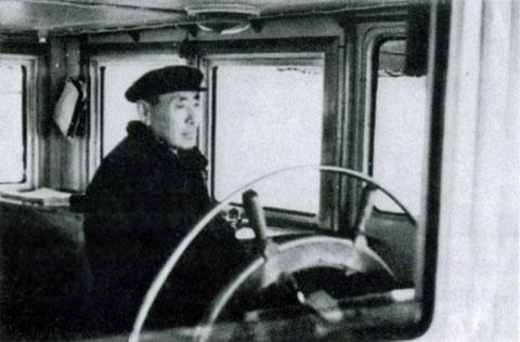 У штурвала Корохоткин Г.В.