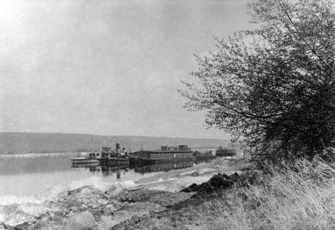 На реке Лена после ледохода. Якутия.