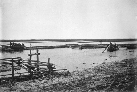Паводок на реке Лене. Якутия