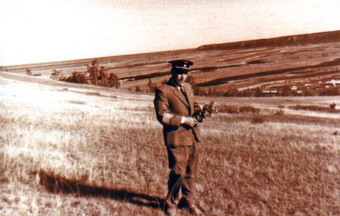 В окрестностях Якутска. 1966 год