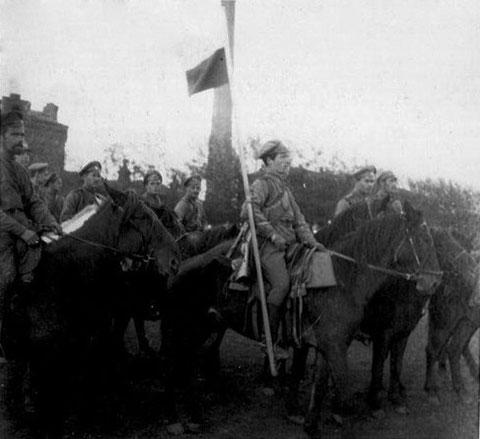 Конвой Пепеляева. 1918 год.