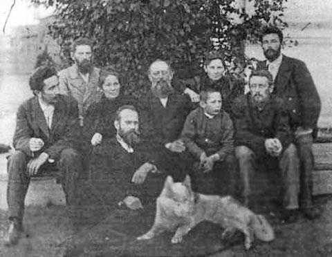 Иохельсон с группой ссыльных 1902 г.