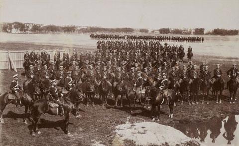 Кавалерийская часть армии России