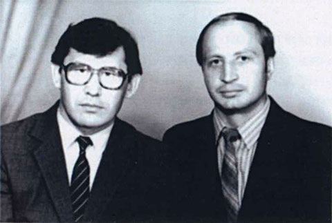 Н.Н. Данилов, Ю.И. Трофимцев, гр. М-69-1