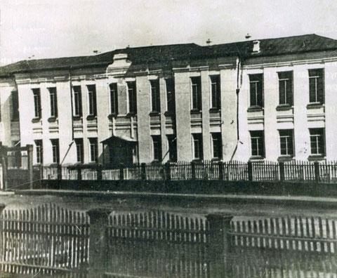 Здание якутского педагогического института. Якутск