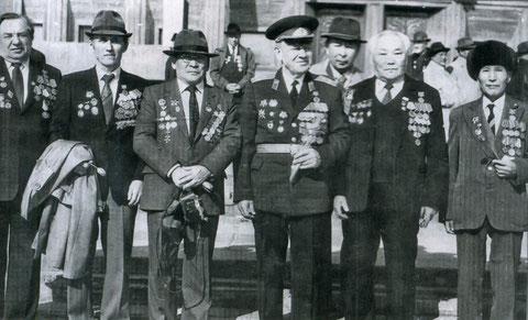 Ветераны ВОВ Якутского государственного университета