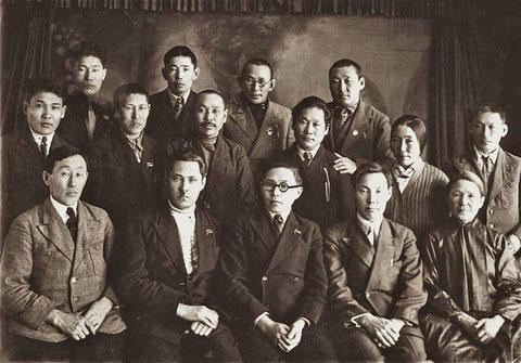 Члены Центрального исполнительного комитета ЯАССР