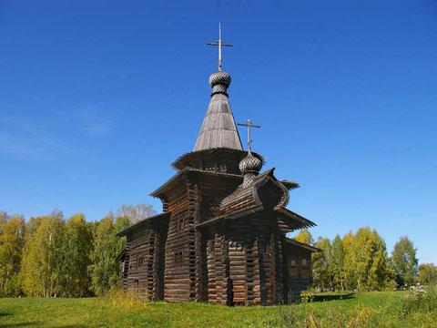 Реставрированная Спасская церковь