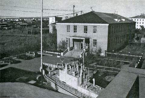 Здание администрации Жатайского ССРЗ