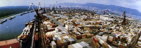 Осетровский порт, 1993 год