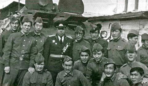 Студенты ЯГУ на сборах. 1979 г.