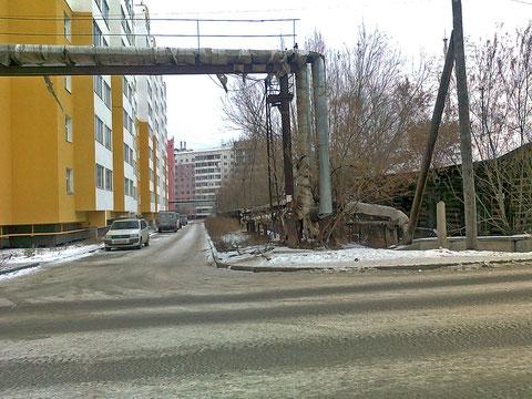Улица имени Жиркова в Якутске