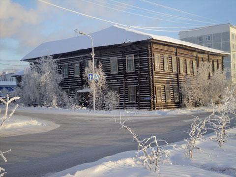 Здание военной кафедры Якутского государственного университета