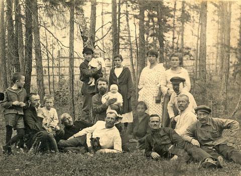 Сотрудники ветеринарной службы Якутска на отдыхе