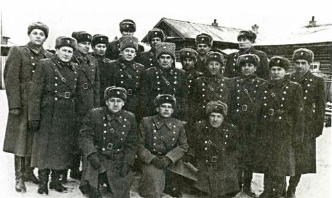 Офицеры военной кафедры 1973 год