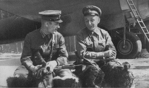 А.П. Штепенко. Снимок 42-го года
