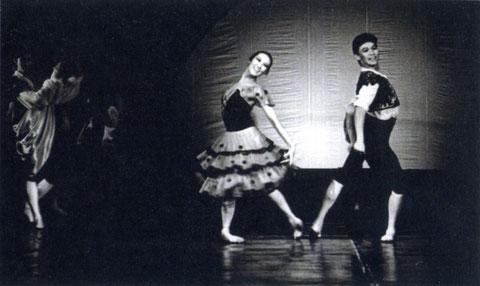 Г. Дулова и В. Петров в балете «Дон Кихот». 1977 г.