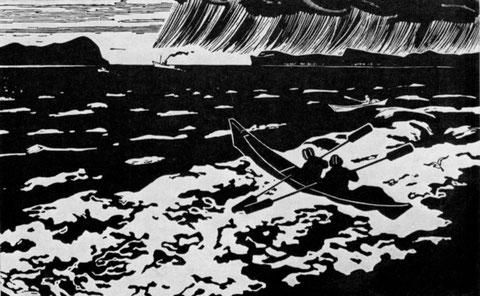Неофитов. Рыбаки на Лене