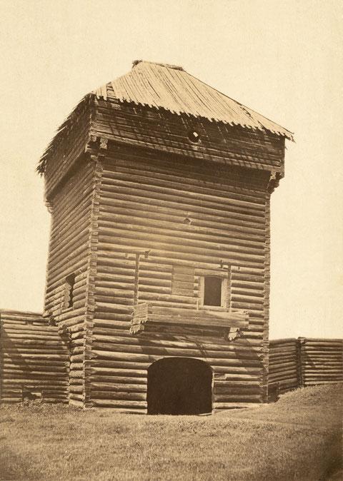 Надвратная башня Якутского острога