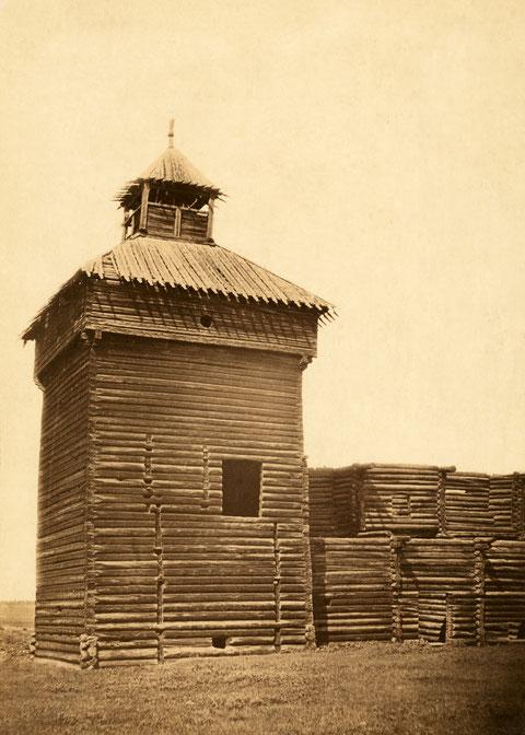 Якутск. Башня острога