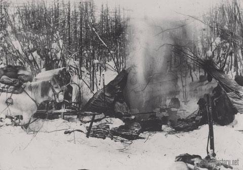 Охотники зимой. Снимок Йохельсона