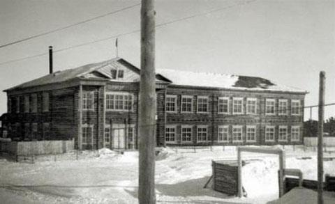 Здание школы в Вилюйске