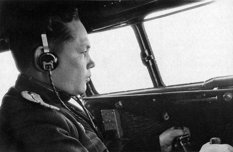 Якутский летчик В.И. Кузмин 1954 г.