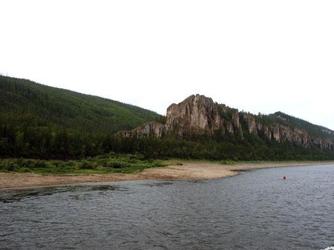 Район Ленских столбов. Якутия