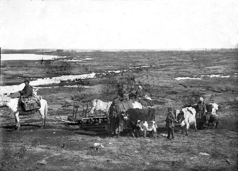 Якутская семья. Фото начала ХХ в.