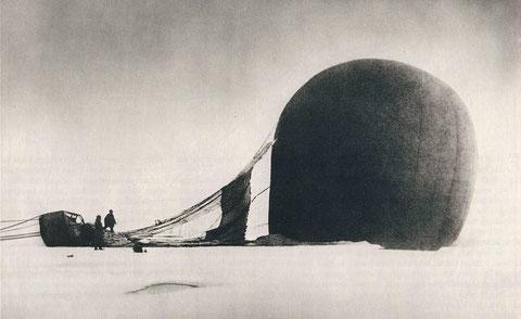 Аэтостат «Орел» шведского путешественника Андрэ