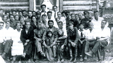 В.С. Молоков  в Якутском аэроклубе. 1936 год
