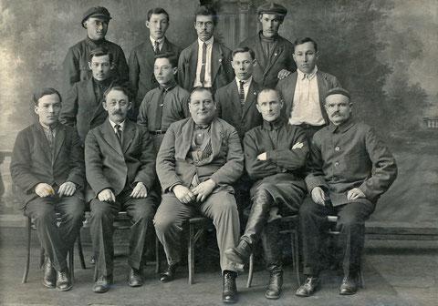 Сотрудники ветеринарной службы в Якутии. 1930 г.