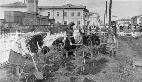 Субботник в Якутске