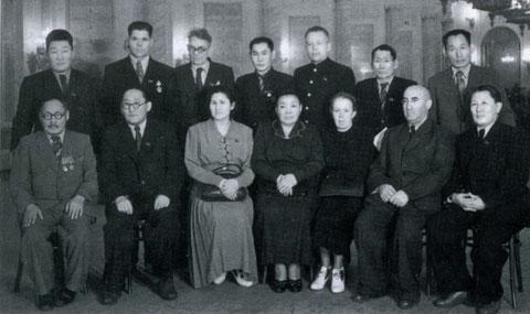 Делегаты от Якутской АССР