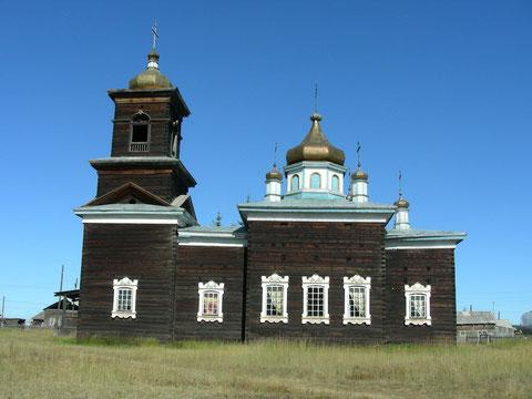 Таттинская Николаевская церковь в Якутии