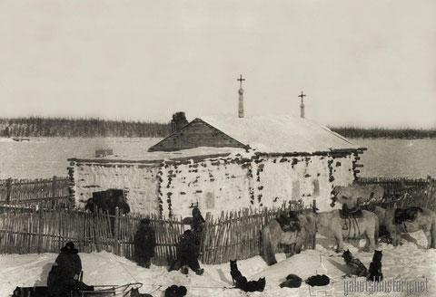 Часовня в северном селении. Фото В.И.Иохельсона