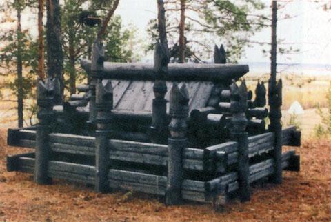 Чардаат (якутское захоронение). Реконструировано. Якутия