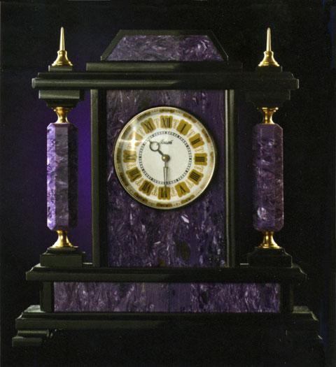 Часы из чароита Якутия