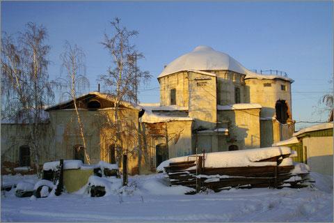Богородицкий храм в советское время. Якутск