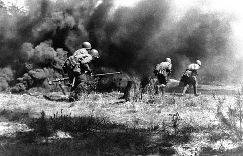 Наступление. 1943 год