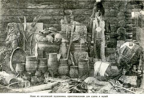 Одна из коллекций художника И.В. Попова