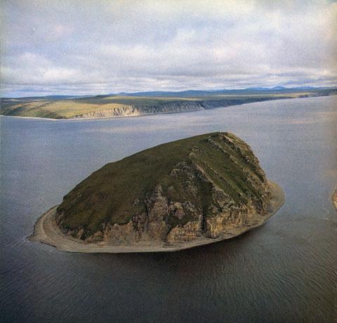 Остров Столб. Якутия