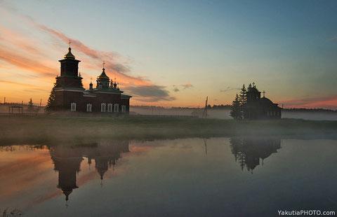 Музейный комплекс. Якутия. Фото Айар Варламов