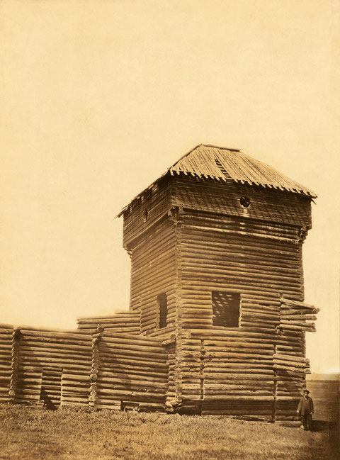 Одна из башен Якутского острога