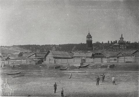 Олекминскъ. Снимок В.Иохельсона