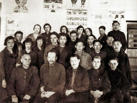 Члены кружка «Юный краевед»