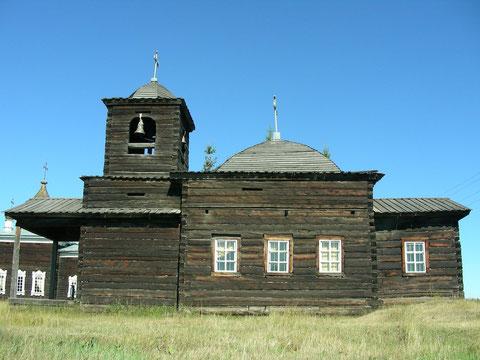 Уолбинская часовня в Якутии